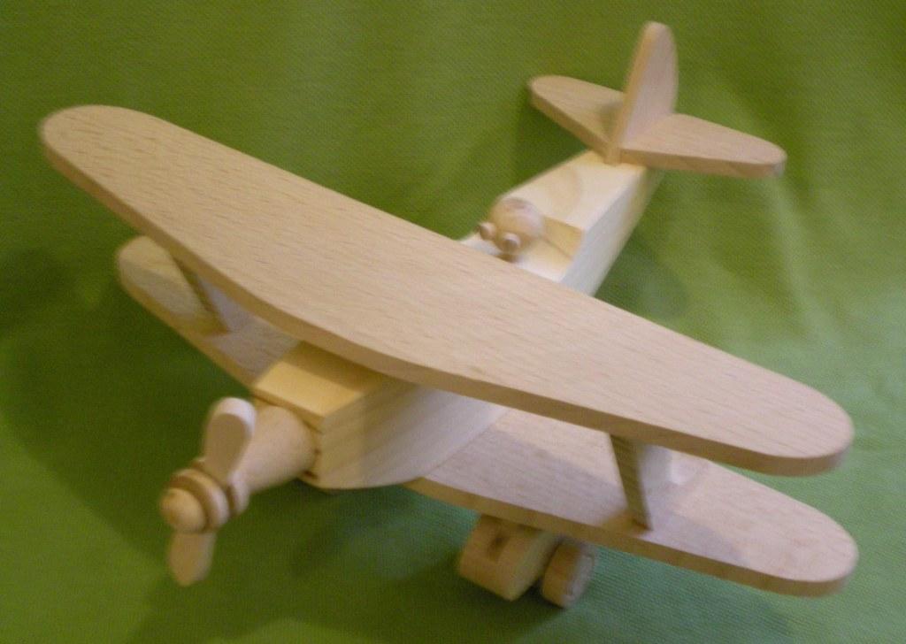 Самолет кукурузник из дерева 95